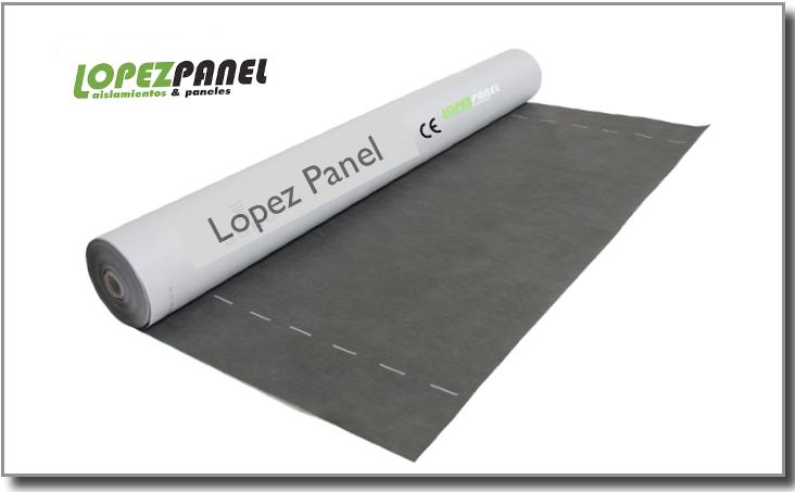 lámina impermeable para panel sandwich